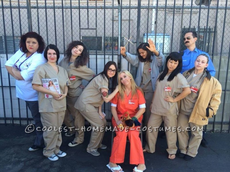Cool Group Halloween Costume Idea: Orange is the New Black