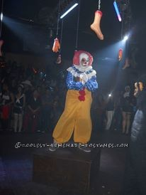 Cool Homemade Penny Wise Clown IT Costume - 1