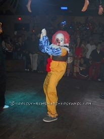 Cool Homemade Penny Wise Clown IT Costume
