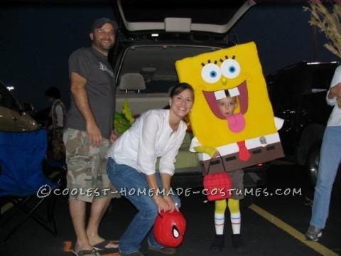 Homemade Spongebob Costume: People Thought SpongeBob was Part of the Show!
