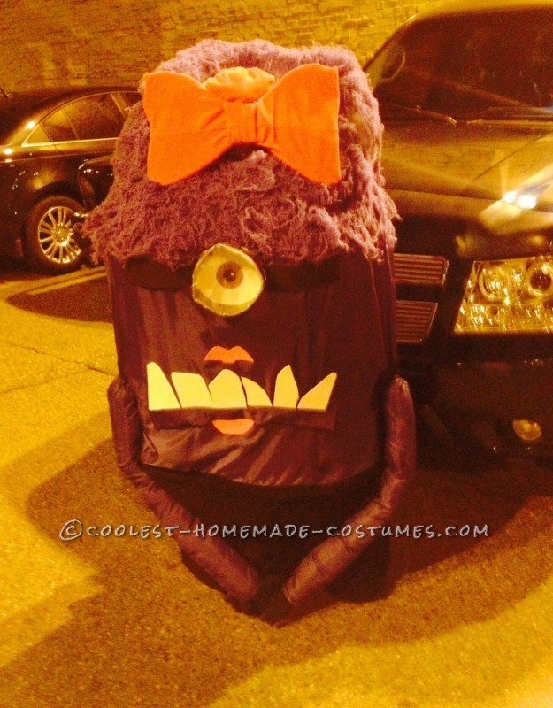 Homemade Girly Purple Minion Costume - 1