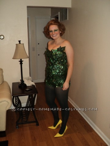 Homemade Poison Ivy Costume (Before It Was Cool…)