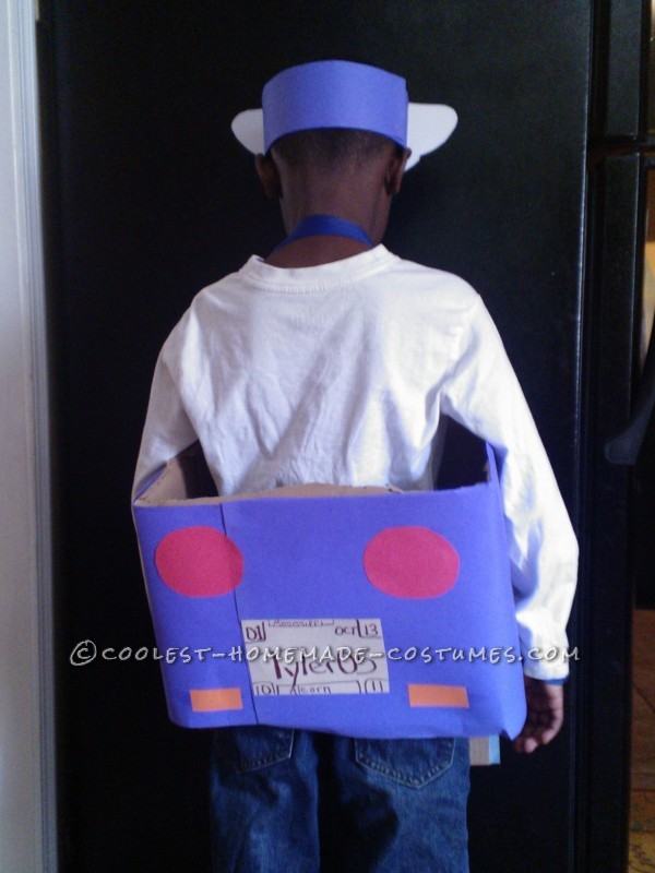 Policeman Costume for Community Helpers Day at Elementary School