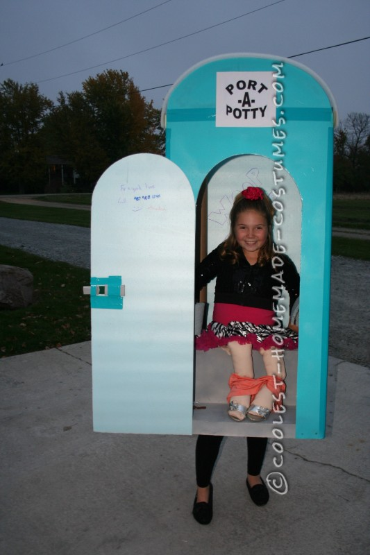 Cool Port-A-Potty Halloween Costume