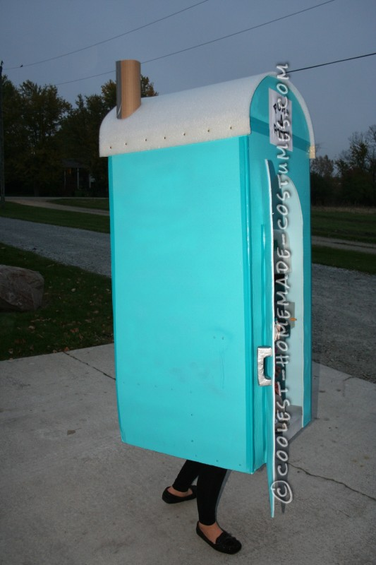 Cool Port-A-Potty Halloween Costume - 2