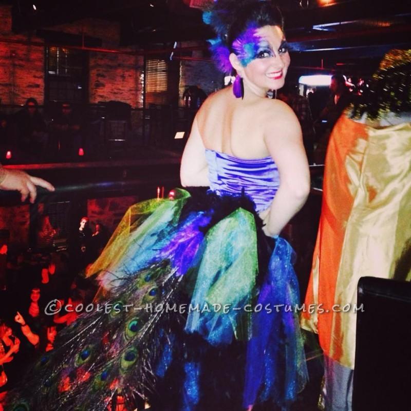 Prize-Winning Homemade Pretty Peacock Costume
