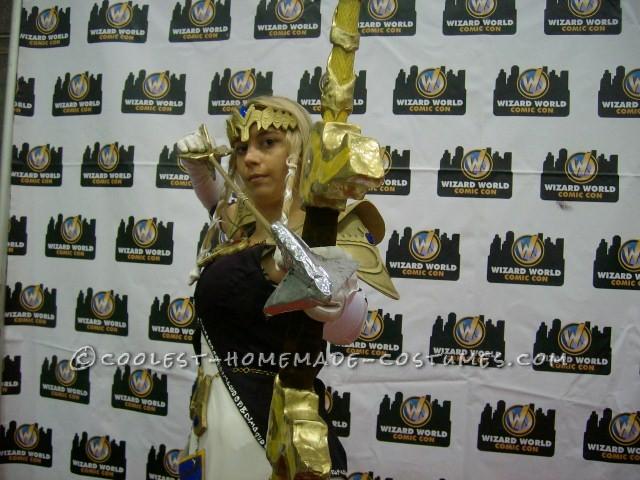 Coolest Homemade Princess Zelda Costume - 5