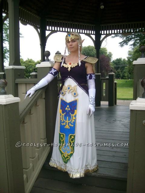 Coolest Homemade Princess Zelda Costume - 2