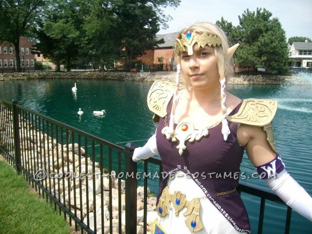 Coolest Homemade Princess Zelda Costume - 3