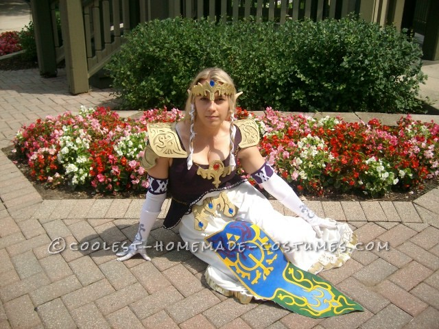 Coolest Homemade Princess Zelda Costume - 4