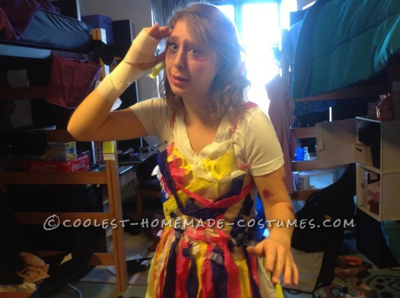 Original PTSD Pinata Costume Idea for a Woman
