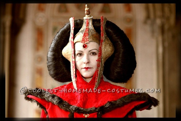 Awesome Handmade Queen Amidala Halloween Costume