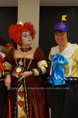 Coolest Homemade Queen of Hearts Halloween Costume