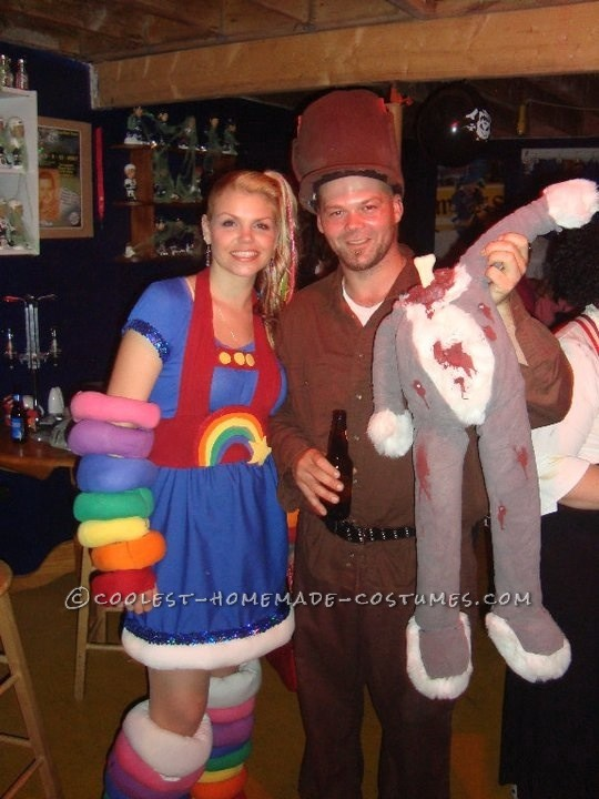 Cool DIY Rainbow Brite Costume for a Woman - 1