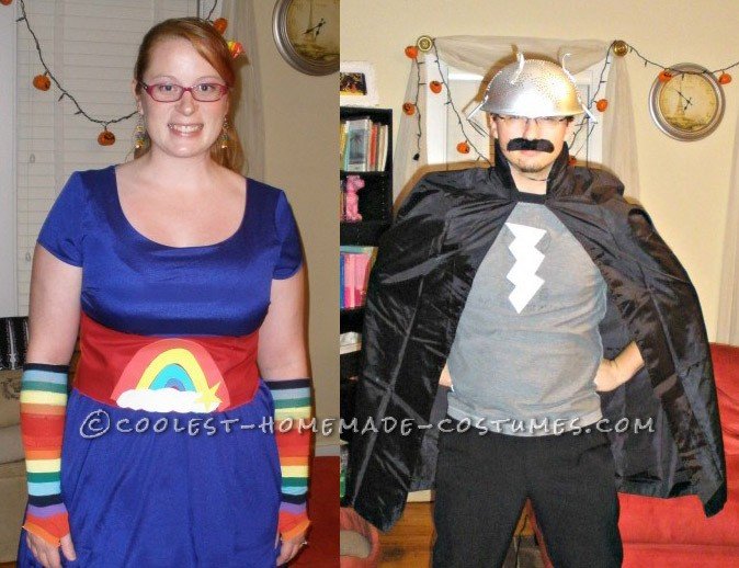 Rainbow Brite and Murky Dismal Couple Costume