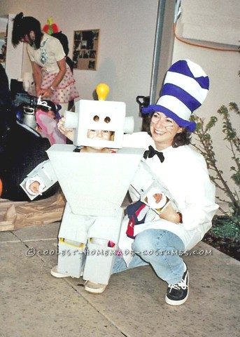 DIY Robot Boy Costume for a Child