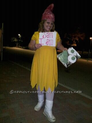 Fun Homemade Costume Idea: Sam-I-Am from Green Eggs and Ham