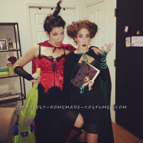 Homemade Sanderson Sisters Group Costume from Hocus Pocus