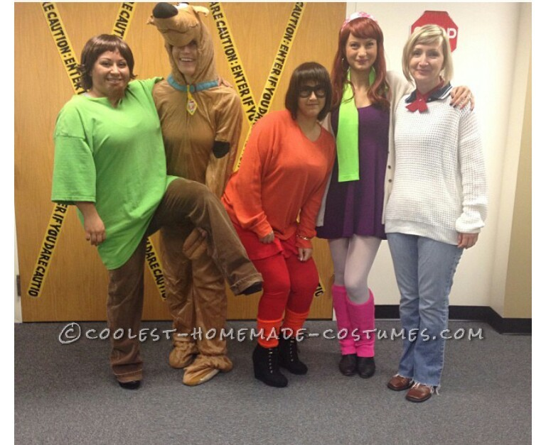 Cool Scooby Doo Gang Costume - 2