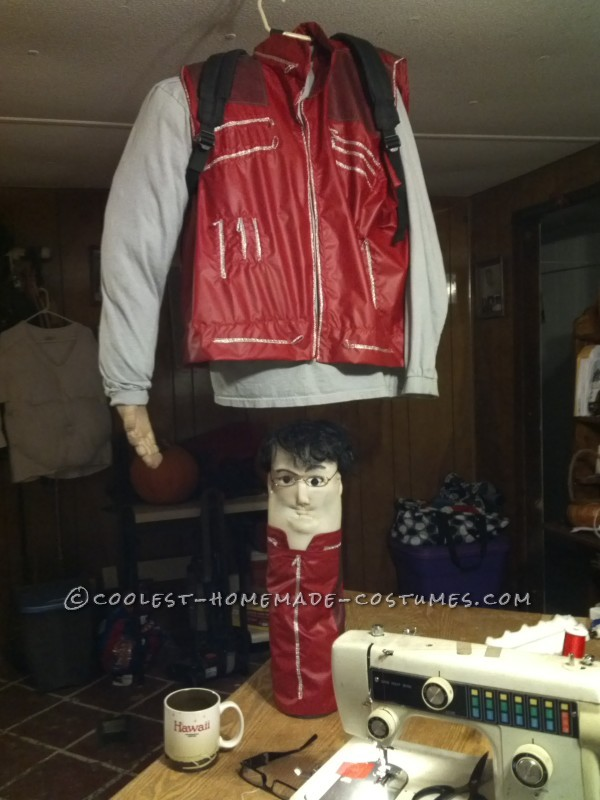 Funny Homemade Scrad and Charlie Illusion Costume from Men in Black - 1