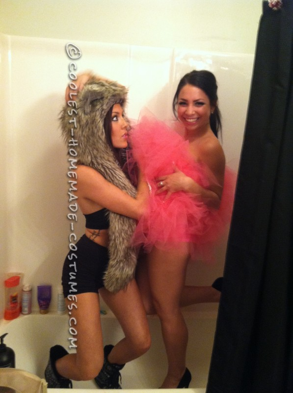 Sexy (and Easy!) Loofah Costume for the Ladies - 2