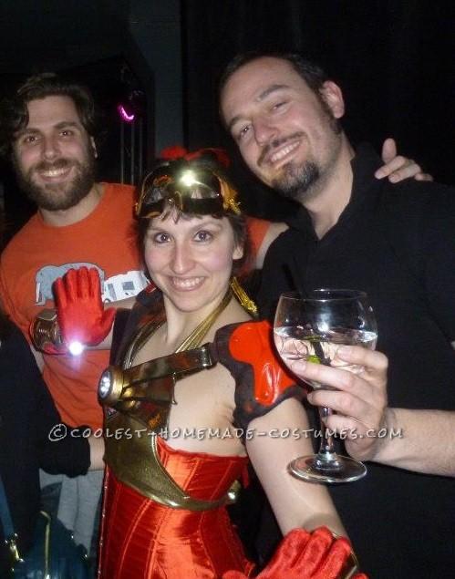 Sexy Badass Femme Ironman Costume