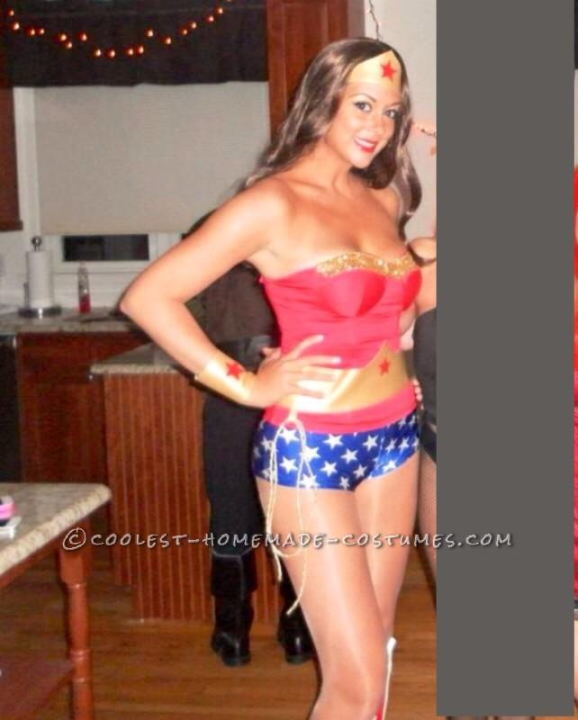 Sexy Homemade Wonder Woman Costume - 1