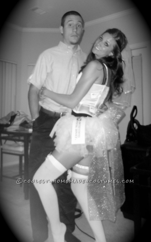 Sexy Mailman and Mail Order Bride Couple Costume
