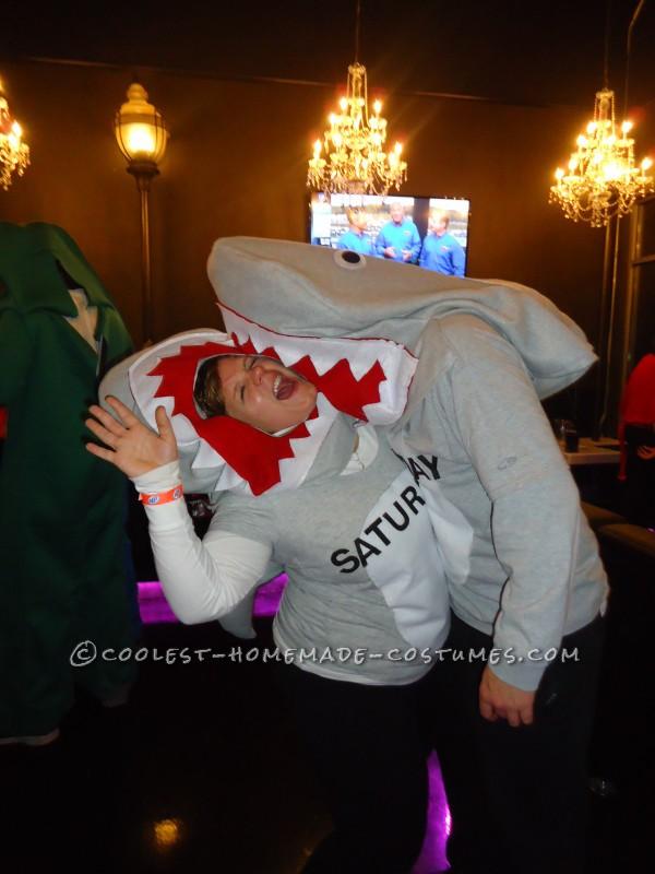 "Cool Homemade ""Shark Week"" Group Costume - 2"