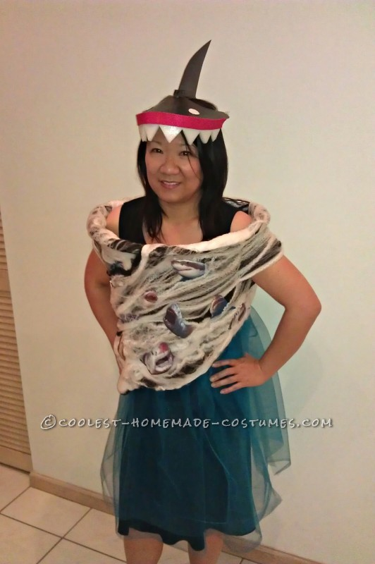 Cool DIY Sharknado-Inspired Costume