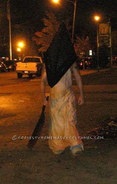 Creepy Homemade Group Costume: Silent Hill Nurses and Pyramid Head - 5