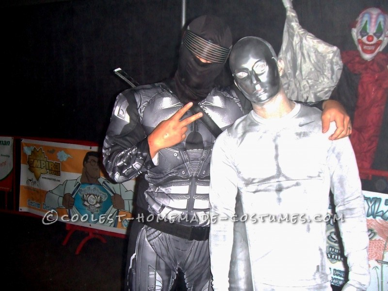 Cool Homemade Silver Surfer Halloween Costume