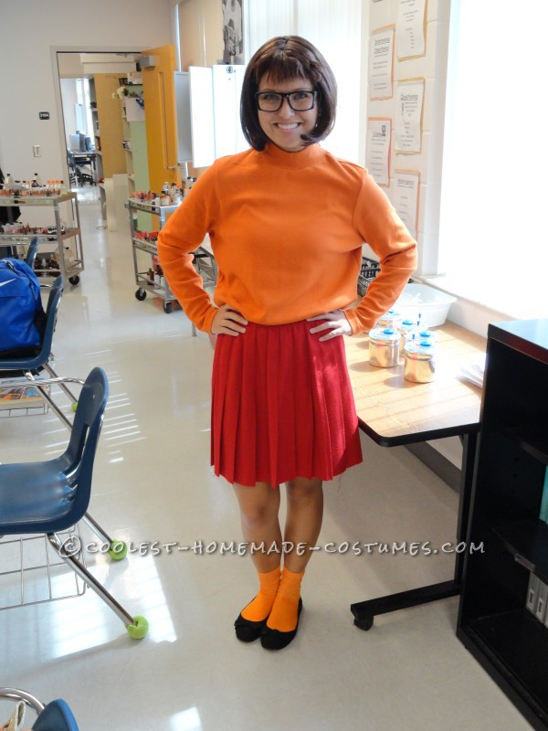 Simple and Cute Velma Costume