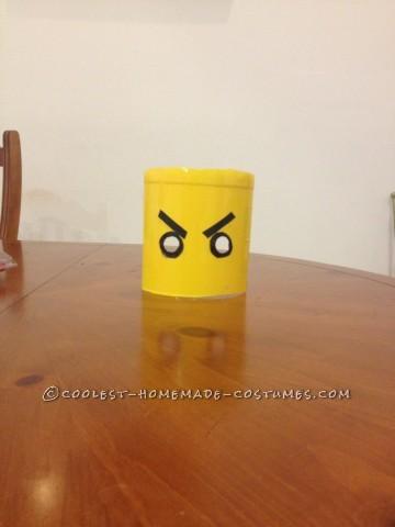 Awesome DIY Lego Ninjago Jay Costume