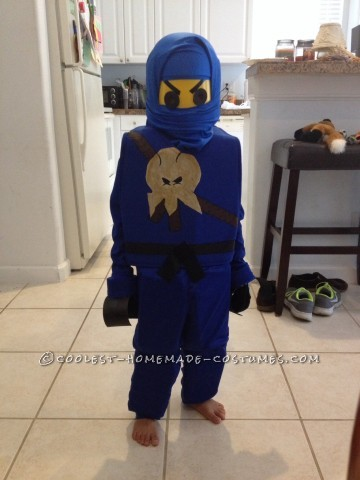 Awesome DIY Lego Ninjago Jay Costume