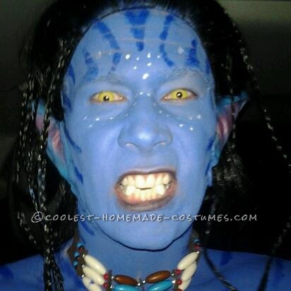 Soul-Snatching Homemade Avatar Costume