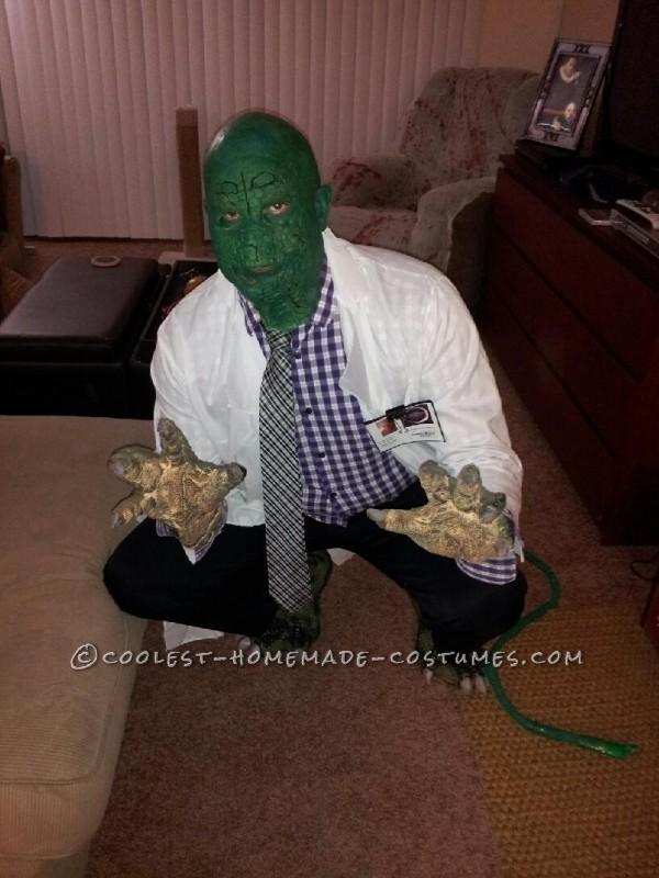 Homemade SpiderMan Villain Costume: Dr. Curt Connors (a.k.a The Lizard)