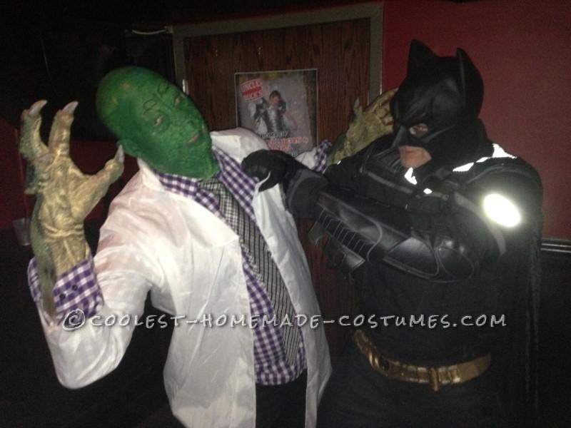 Batman Vs The Lizard