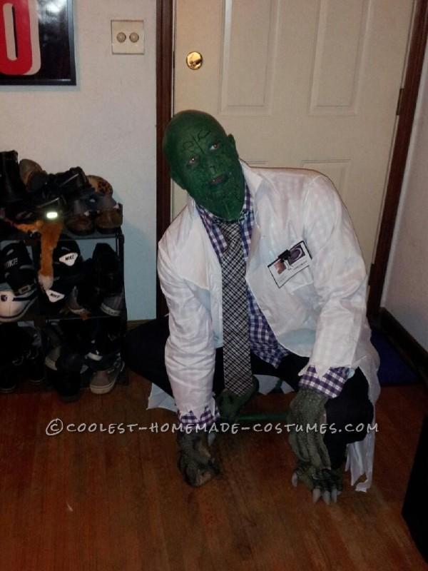 Homemade SpiderMan Villain Costume: Dr. Curt Connors (a.k.a The Lizard) - 9