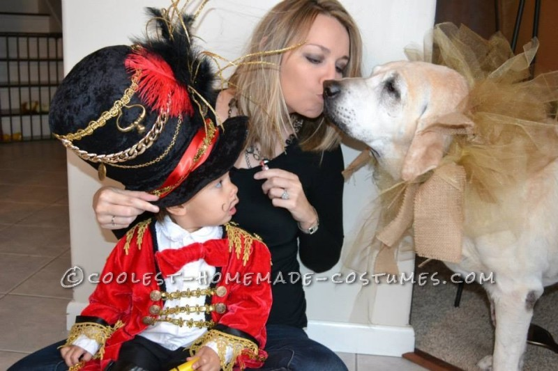 The Most Amazing 2 Year Old Ring Master Costume - Step Right Up!