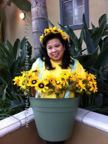 Super Cute Flower Pot Costume