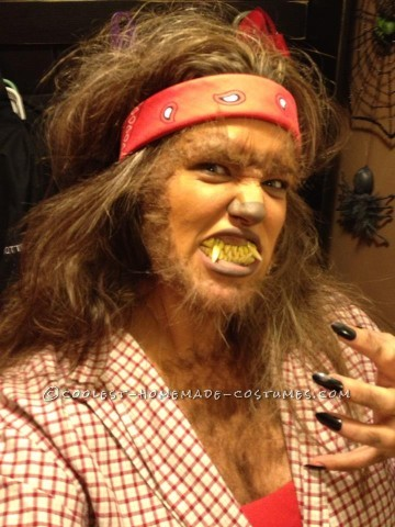 Sure to Impress Werewolf Costume with No Wigs or Uncomfortable Clothing!