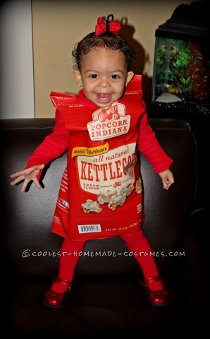 Cool Last-Minute Costume Idea: Sweetest Bag of Indiana Kettlecorn Popcorn