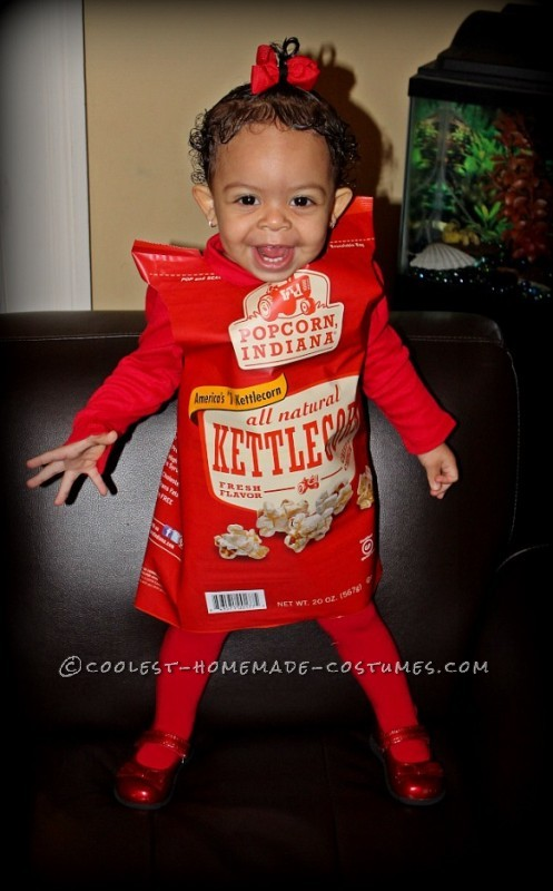 Cool Last-Minute Costume Idea: Sweetest Bag of Indiana Kettlecorn Popcorn