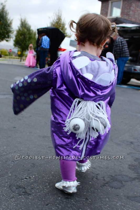 Sweetest Homemade BOO Costume for a Toddler! - 1