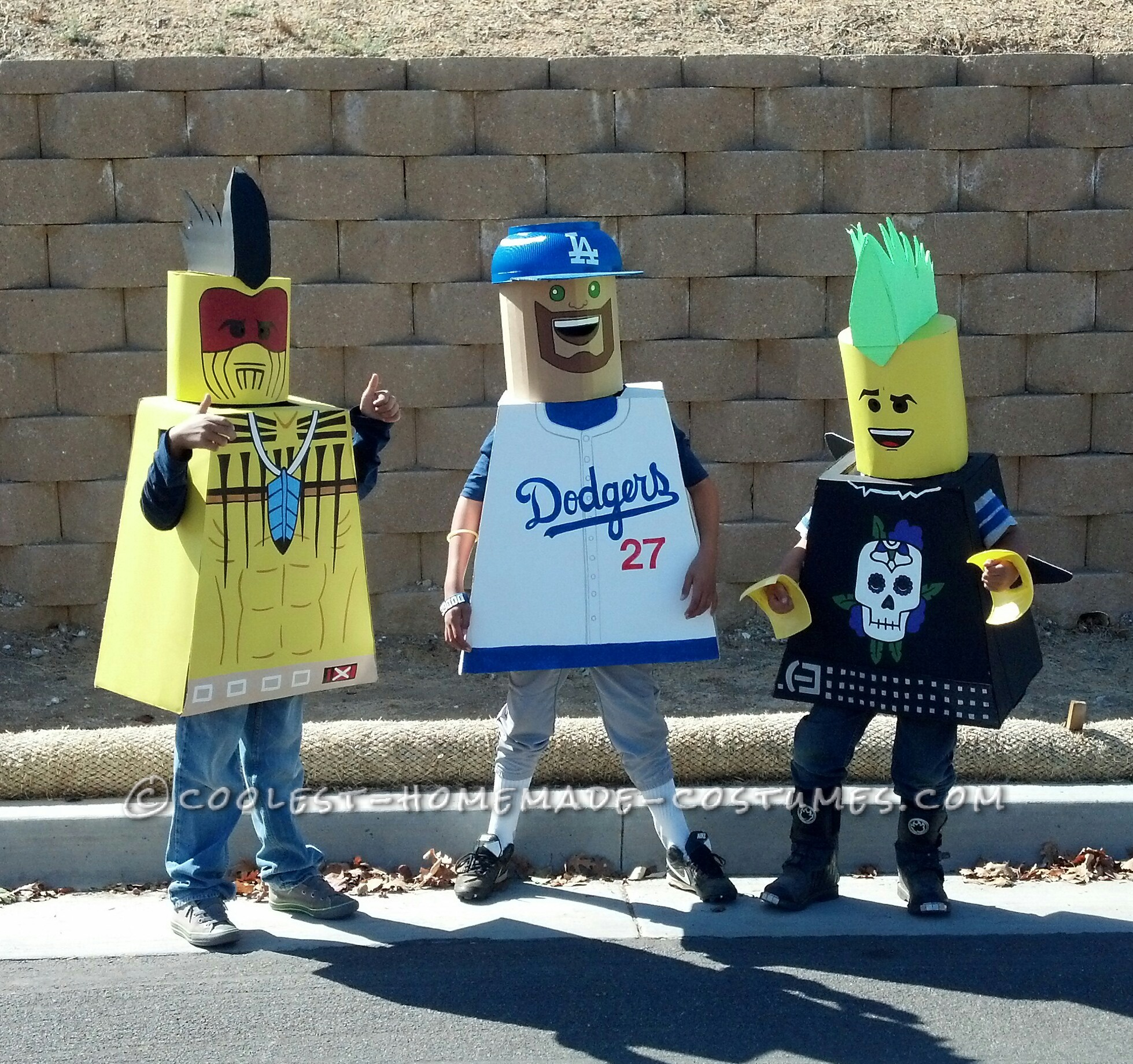 Talk-of-the-Town LEGO Minifigures Group Costume