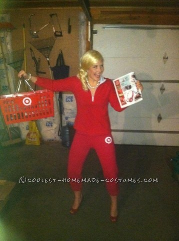 Funny Halloween Costume Idea for a Woman: Target Black Friday Lady