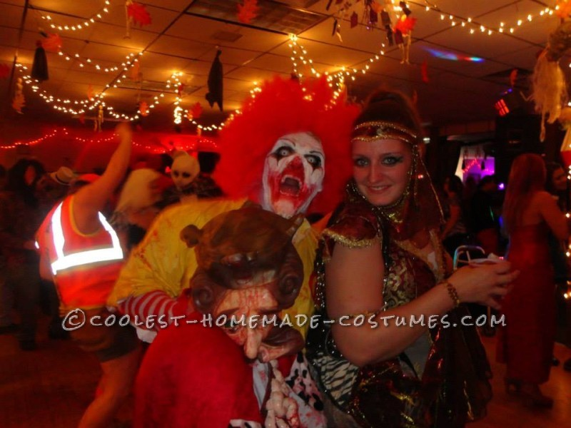 Creepy Dead Ronald Mcdonald Costume - 2