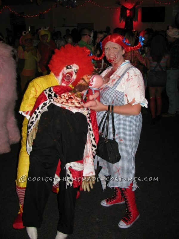Creepy Dead Ronald Mcdonald Costume - 4