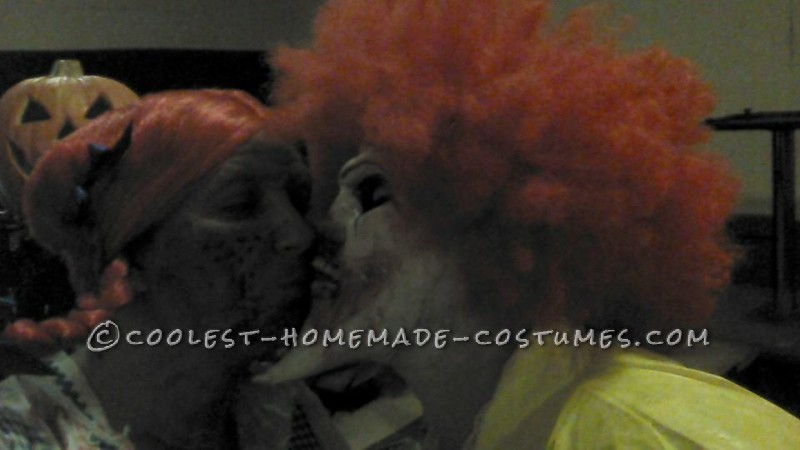 Creepy Dead Ronald Mcdonald Costume - 6